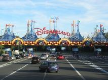 August 2015 Paris Disneyland Entrance