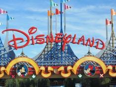 August 2015 Paris Disneyland Sign