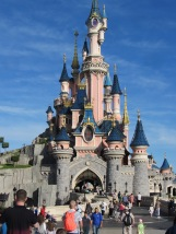 August 2015 Paris Disneyland Sleeping Beauty's Castle