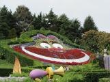 August 2015 Paris Disneyland Cheshire Cat