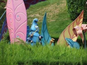 August 2015 Paris Disneyland Caterpillar