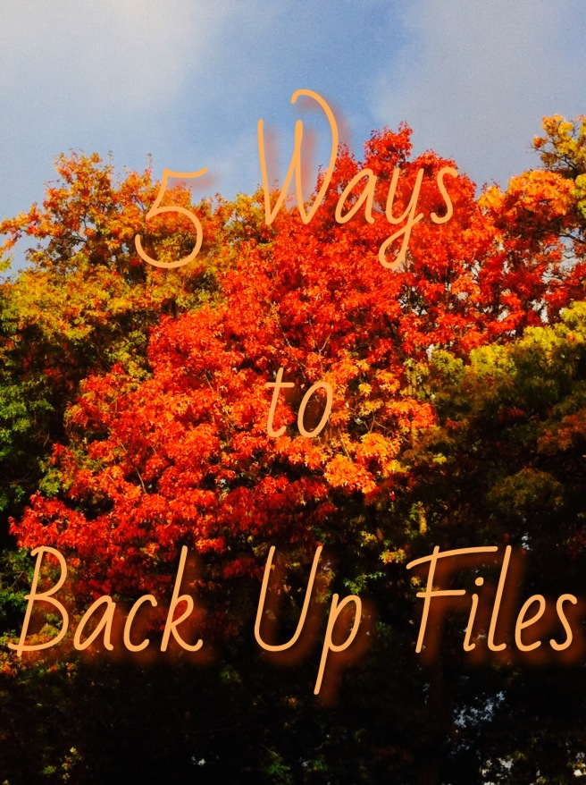 October 2016 5 Ways to Back Up Files image