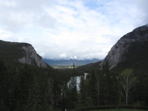 Fairmont Banff Springs Hotel 2016 window view