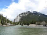 Banff 2016 bottom of Bow River Falls