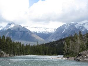 Banff 2016 mountain view 2