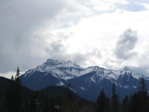 Fairmont Banff Springs Hotel 2016 mountain view