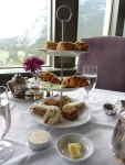 Fairmont Banff Springs Hotel 2016 afternoon tea 2