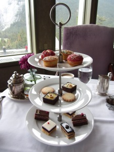 Fairmont Banff Springs Hotel 2016 afternoon tea 3