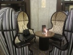 Fairmont Banff Springs lounge chairs