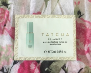 Tatcha Balanced Pore Perfecting Water Gel Moisturizer