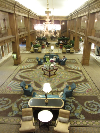 Seattle hotel lobby