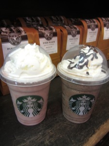 Seattle starbucks drinks