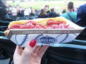 Seattle Safeco Field Hotdog
