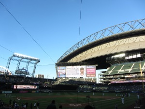Safeco Field seat view