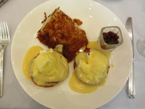 Seattle The Georgian Eggs Benedict