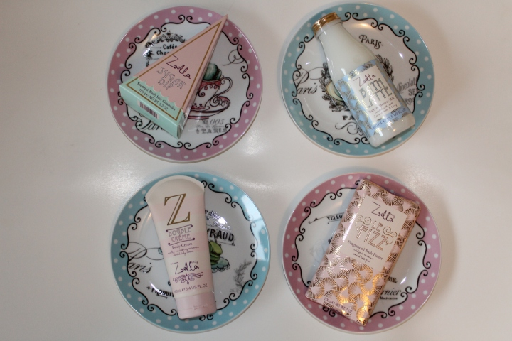 Zoella Beauty Sweet Inspirations October 2016 display