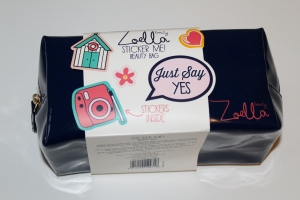 Zoella Beauty October 2016 Sticker Me! Beauty Bag