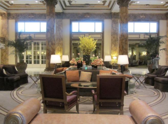 San Francisco 2017 Fairmont Hotel Lobby 1