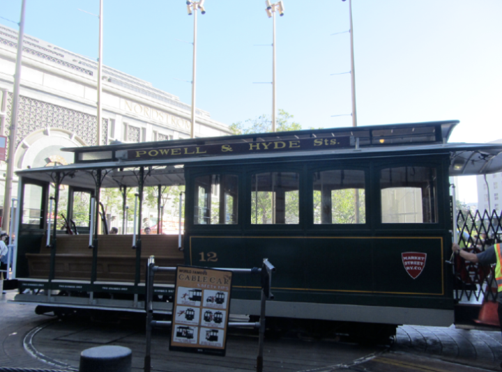 San Francisco 2017 Powell and Hyde Cable Car