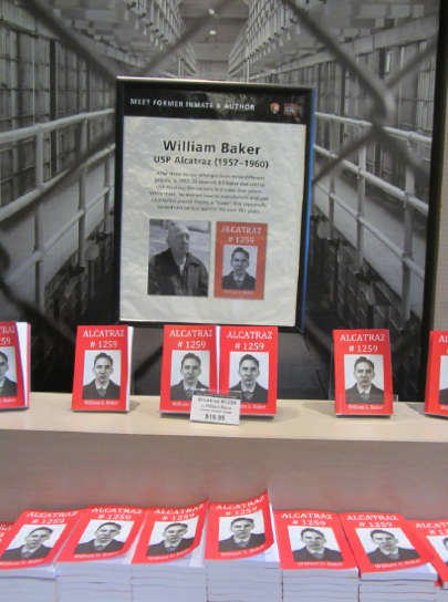 San Francisco 2017 Alcatraz Island William Baker Book Signing