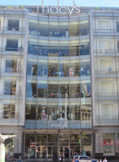 San Francisco 2017 Union Square Macy's Store