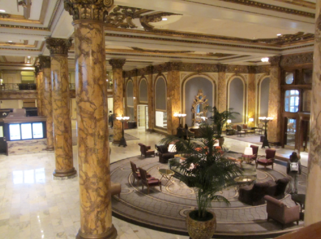 San Francisco 2017 Fairmont Hotel Lobby 2