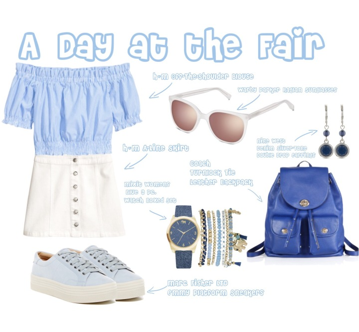 Warby Parker Raglan Outfit Spread
